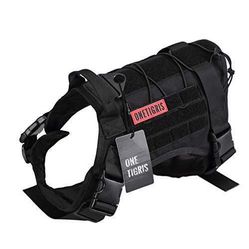 Best Tactical Dog Vests Harnesses For Edc Every Dog Carry