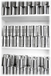 Survival Food storage