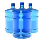 Water storage containers for prepping supplies