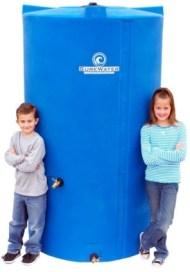 525 gallon water storage tank