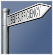 Self suffieciency sign