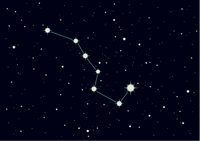 Wilderness navigation by stars