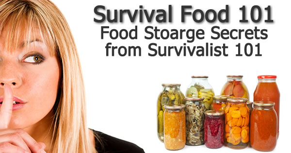 Survival Food 101