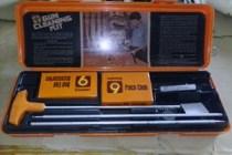 Gun cleaning kit.