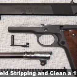 Clean a 1911 Pistol