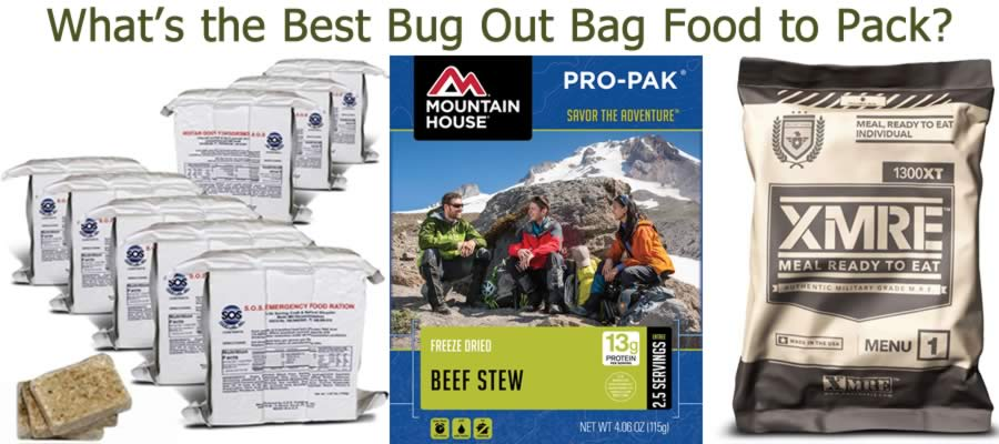 Bug Out Bag Food