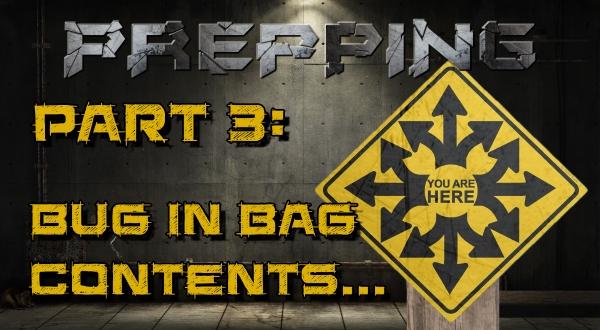 Get Home Bag Supplies