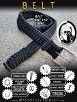 Prepinstein Paracord Belt