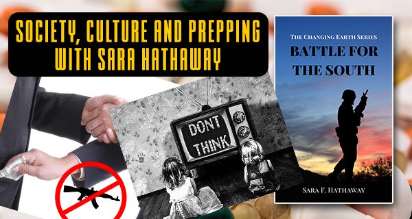 Society Culture and Prepping with Sara Hathaway