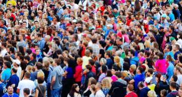 It can be hard to maneuver through a crowd like the ones that form on Black Friday. Keep your footing and always be aware of your surroundings.