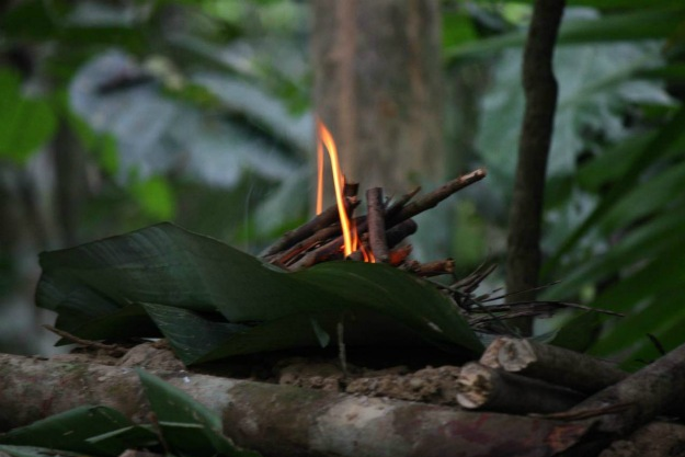 Quick Tip: Bringing Fire Into Your Shelter | How To Build A Shelter Using Natural Resources | Primitive Shelters
