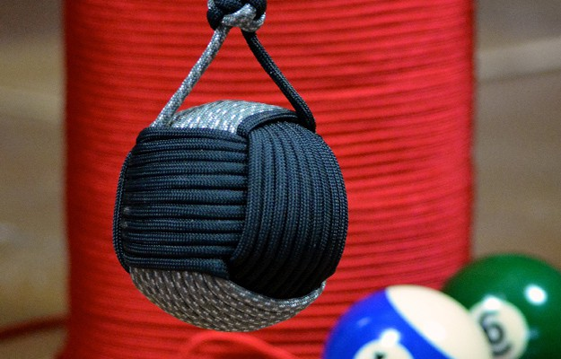 DIY Paracord Monkey Fist How To