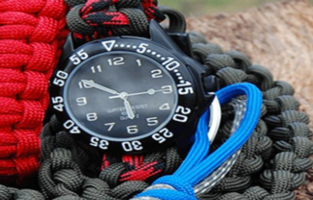 DIY Paracord Watchband   Cool Survival DIY Ideas
