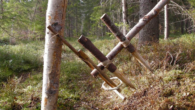 Feather Spear Trap | 9 Kickass Booby Traps to Arm And Protect Your Homestead