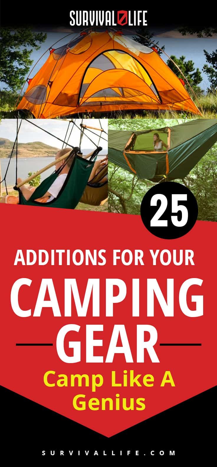 Camping Gears | Camp Like A Genius With These Additions | https://survivallife.com/camping-gears-should-have/