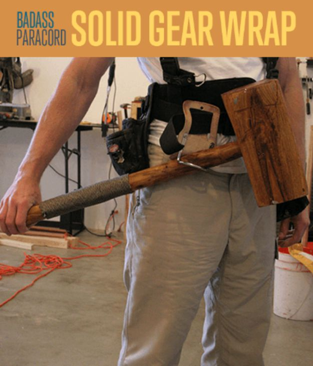 Paracord Projects   Solid Gear Wrap   https://survivallife.com/solid-gear-wrap/