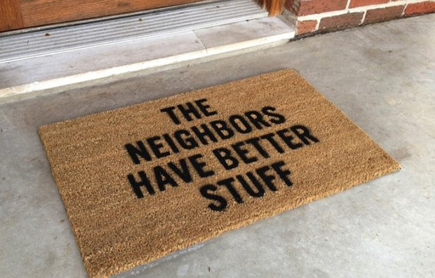 Deterring Door Mat | DIY Home Security for Preppers | Badass SHTF Home Defense