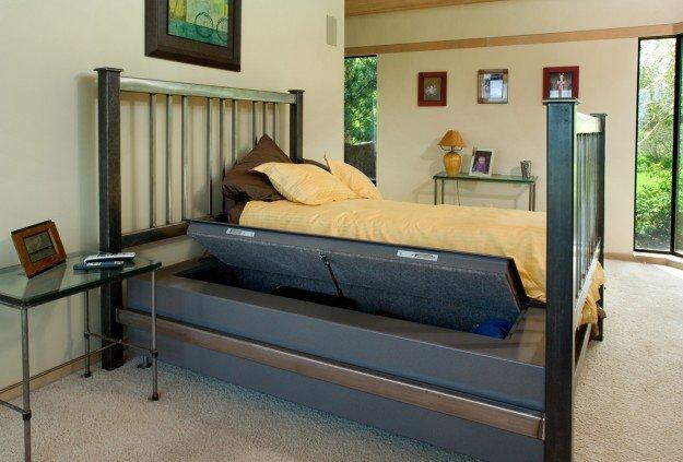 Hidden Bed Gun Safe | DIY Home Security for Preppers | Badass SHTF Home Defense