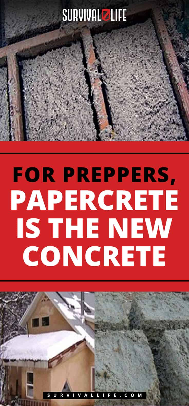Placard | For Preppers, Papercrete Is The New Concrete