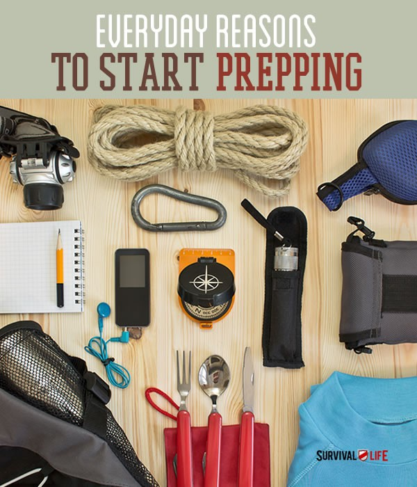 Placard | Start prepping | Everyday Uses For Your Emergency Survival Kit