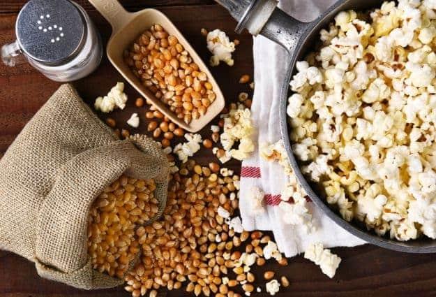 Simply Classic Campfire Popcorn   Camping Snacks Recipes