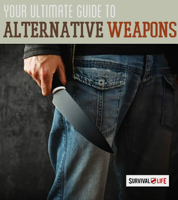 Alternative Weapons   How To Defend Yourself Without A Gun   https://survivallife.com/defend-yourself-without-gun/