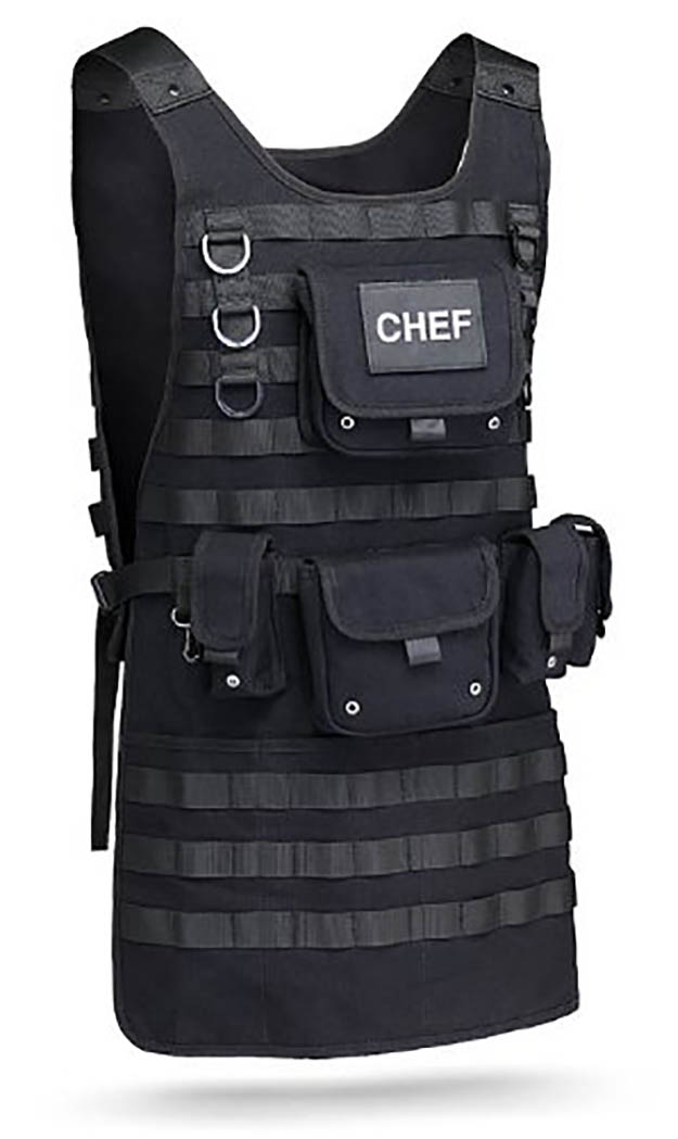 Tactical Grilling Apron | Stocking Stuffers for the Preppers in Your Life