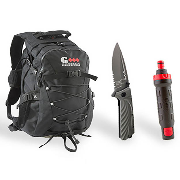 Geiggerig Pack | Survival Life Gear