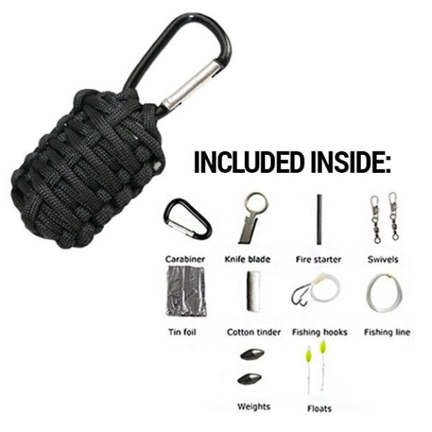 Parcord Grenade | Stocking Stuffers for the Preppers in Your Life