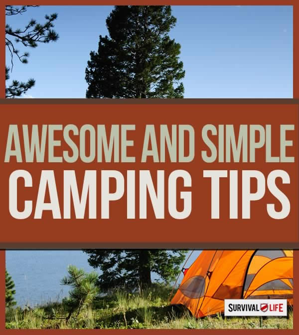 Infographic | Camping Made Simple: Camping Hacks
