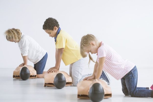 Disaster Preparedness: Prepping with Kids | Prep for first aid.