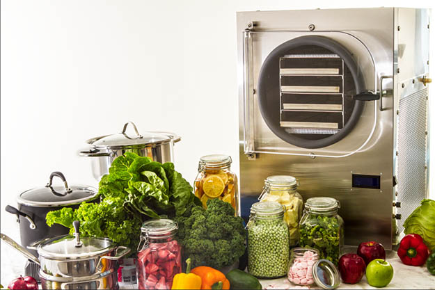 You can dry the food you grow in your apartment but you can take it one step further by freeze-drying them. Via prepperbroadcasting