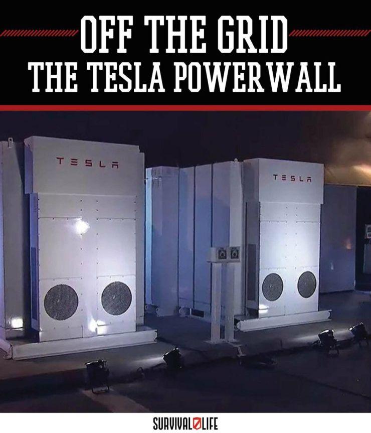 A New Take On Alternative Energy: The Tesla Powerwall   https://survivallife.com/alternative-energy-tesla-powerwall/