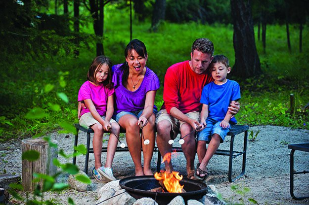 Practice Fire Safety with the Kids | 25 Badass Camping Hacks For Your Next Trip