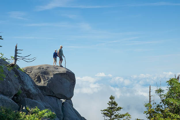 Hiking should be on your to-do list when you go Smoky Mountains camping. Via visitmysmokies.com