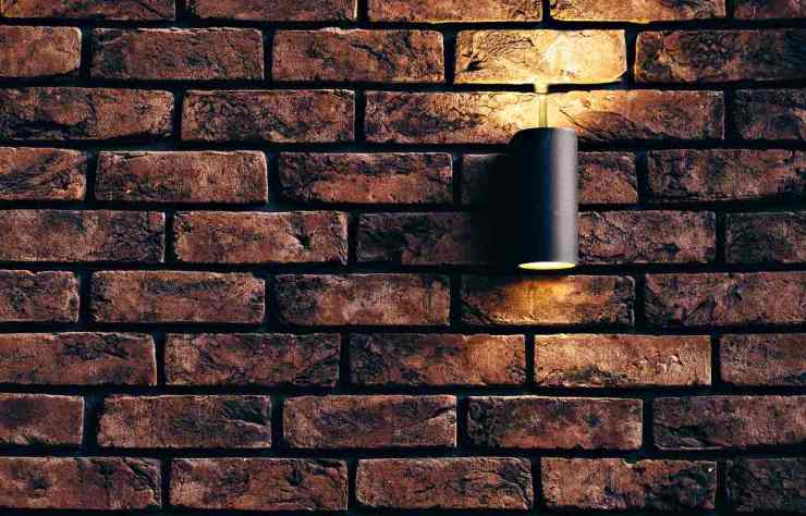 Tubular black sconce | Home Security And Crime Prevention Secrets