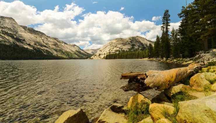 Rocky mountain and river view | Yosemite National Park Camping | Survival Life National Park Series