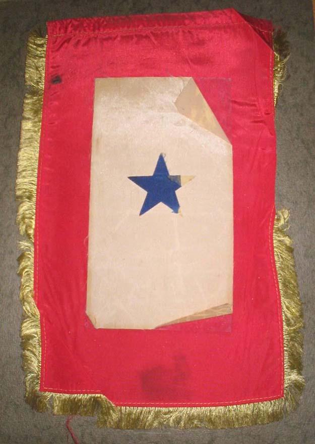 WWII window flag