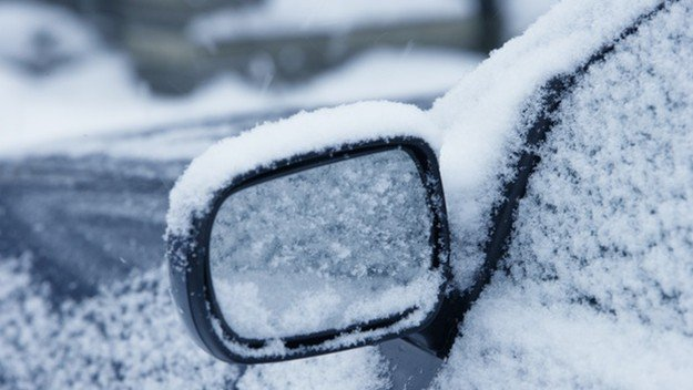 Use Rear/Side View Mirror to Signal for Help | Cold Weather Survival Tips