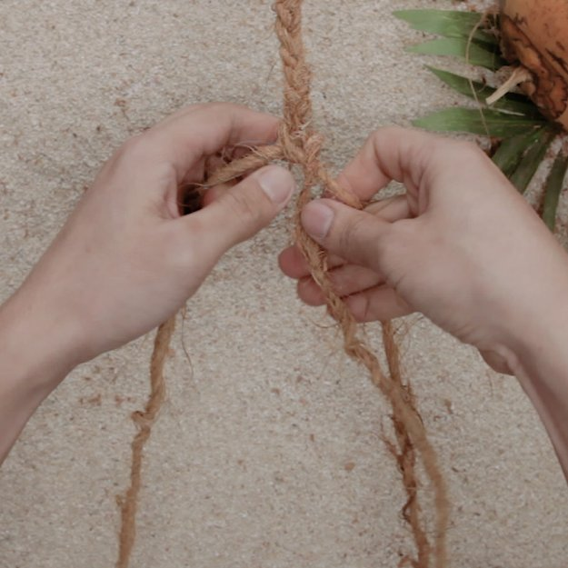 Three-String Braid | DIY Cordage | How to Make Your Own Coconut Rope