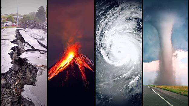 be prepared in 2016: natural disasters