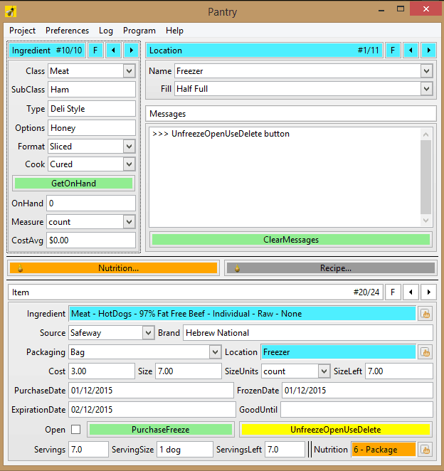 survival database