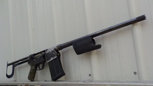 Homemade Bolt Action 12 Gauge | 7 DIY Badass Weapons That Can Save Your Life When SHTF