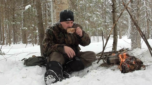 Enjoy Your Hot Cup of Coffee! | How To Make Fire On Top Of Deep Snow