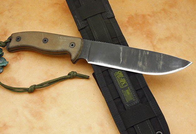 Ontario RTAK-IIKnife   Strong, Sturdy, Dependable: Finding The Best Fixed Blade Knives   Best self defense knife