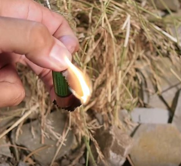 """Flame Emerges   This """"AA"""" Prison Hack Now A Fire Starter For Survivalists"""