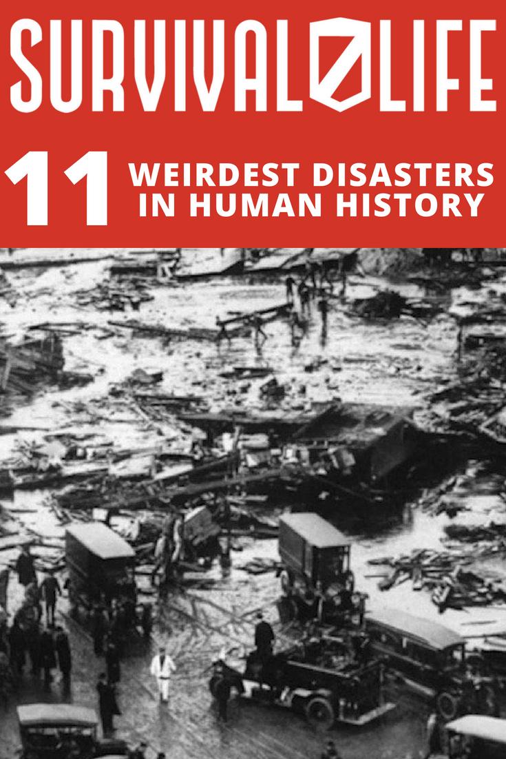 The Weirdest Disasters In Human History | https://survivallife.com/weirdest-disasters/