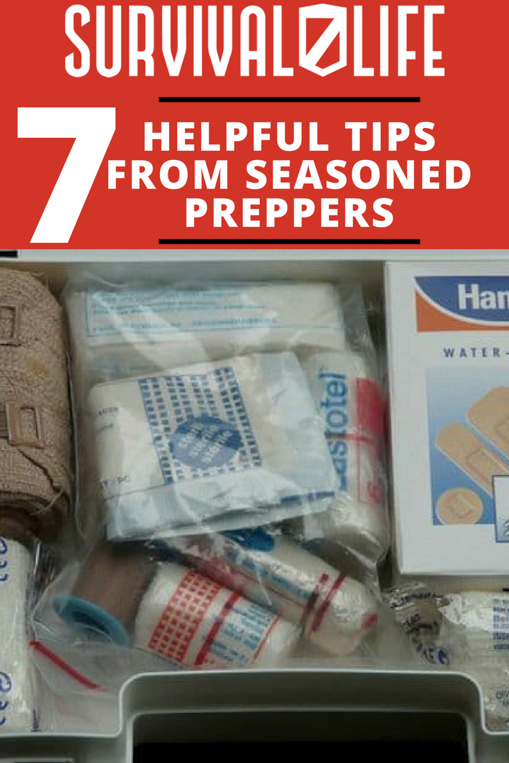 Check out 7 Helpful Tips from Seasoned Preppers at https://survivallife.com/7-helpful-tips-from-seasoned-preppers/