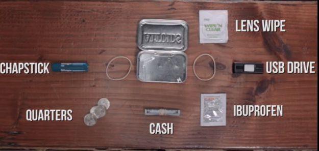 Quarters | Make Your Own Altoids Urban Survival Kit