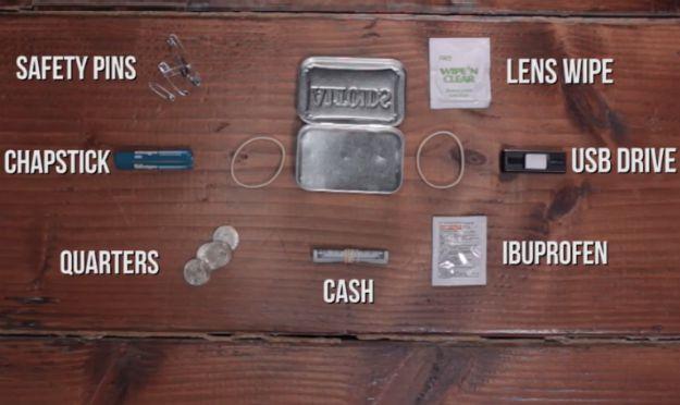 Altoids Urban Survival Kit List | Make Your Own Altoids Urban Survival Kit